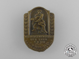 A 1935 German Imperial 99th Infantry Regiment Unification in the Saar Badge