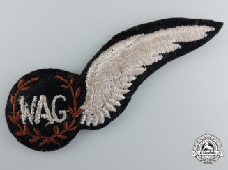 A Royal Air Force (RAF) Wireless/Air Gunner (WAG) Wing
