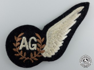 A Royal Air Force (RAF) Air Gunner (AG) Wing