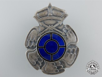 A Second War Finnish Radio Operator & Air Gunner Badge