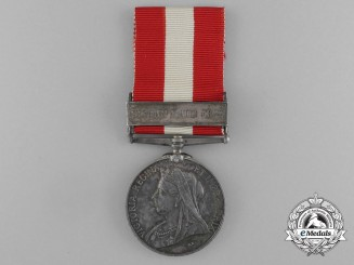 A Canada General Service Medal 1866-1870 to Bombardier of Hamilton Field Battery