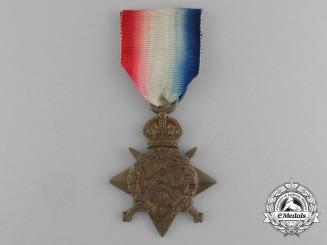 United Kingdom. A 1914 Star to Private A.L. Farrow; Army Service Corps