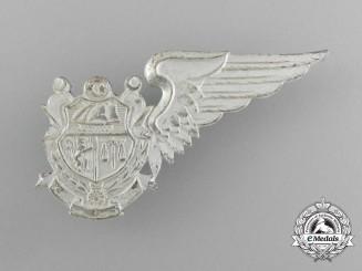 A Tunisian Air Force Pilot Cadet Badge