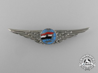 A North Yemeni Air Force Pilot Badge (1962-1990)