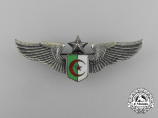 An Algerian Air Force Senior Pilot Badge