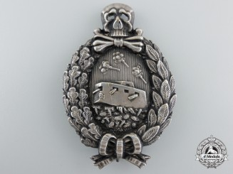Germany, Empire. A Rare Tank Crew Badge, by Juncker c.1916