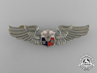 A Philippine Air Force Pilot Badge