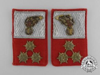 A First War  Austrian  Artillery Officer's Collar Tab Pair