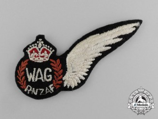A Royal New Zealand Air Force (RNZAF) Wireless/Air Gunner (WAG) Wing