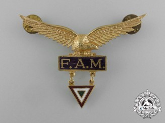 Mexico, Republic. An Air Force (Fuerza Aérea Mexicana) Pilot Badge