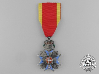 A Brunswick House Order of Henry the Lion; Knight's Cross 2nd Class (1909-1918)
