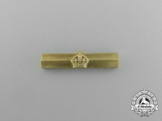 A King's Crown Bar to the Distinguished Service Order