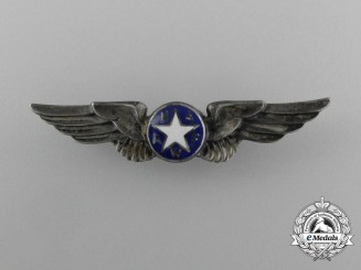 A National Association of Air Force Women (NAAFW) Badge
