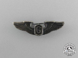 A Miniature American Army Air Force Glider Pilot Wings