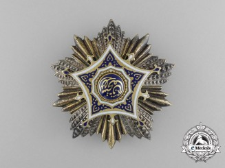 An Egyptian Order of Merit; Grand Cross