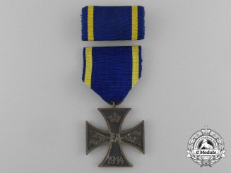 Brunswick. A War Merit Cross, Second Class, c.1915