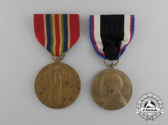 Two Second War Period American Medals