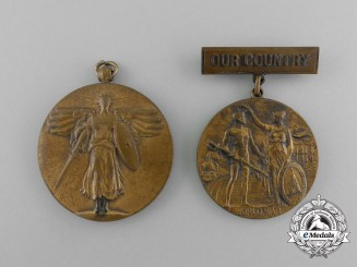 Two First War American Medals