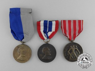 Three American Campaign Medals