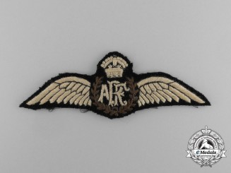 "A First War Royal Flying Corps ARF Monogram ""Toronto"" Wing, Issued at Camp Borden 1918"
