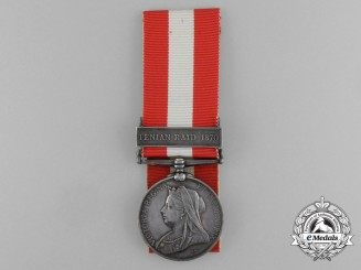 A Canada General Service Medal to a Decedent of the 1812 Secord Family