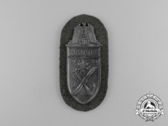 A Mint and Unissued Wehrmacht Heer (Army) Narvik Shield