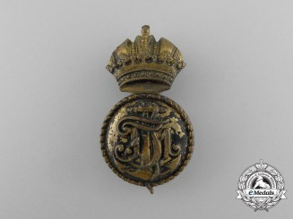 A Post-1907 Austrian Petty Officer's Cap Badge