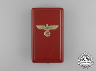 A Case for a German Eagle Order 3rd Grade Merit Cross