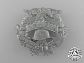"A Mint Third Reich Period ""Fit for Military Service"" Badge"