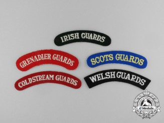 Five Guards Shoulder Flashes