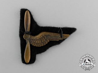 France. A Scarce Free French Air Force Aircrew Badge, c.1942