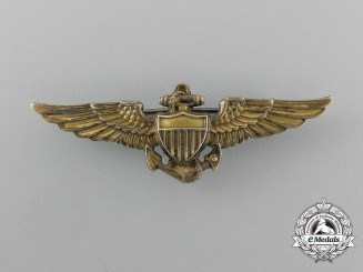 An American Naval Aviator Badge by Balfour
