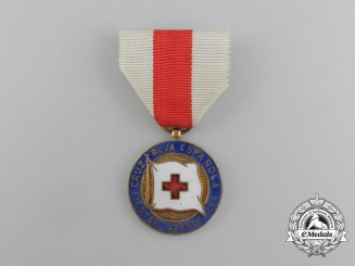 A Spanish Red Cross Flag Festival Medal