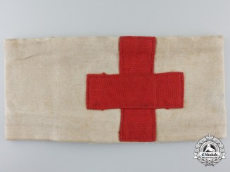 A Second War Italian Red Cross 9th Mobilization Centre at Rome Armband