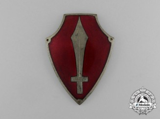 A Latvian Regimental Sleeve Badge