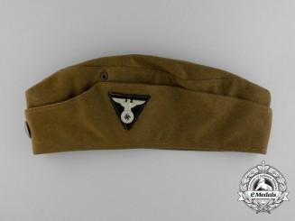 Germany, SA. A Thüringen Garrison Overseas Cap, RZM Tagged