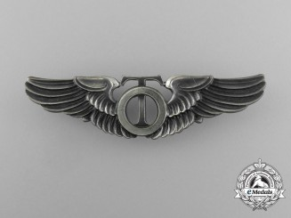 An American Army Air Force Technical Observer Badge 1940