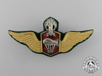 A Royal Lao Air Force Balloonist Badge