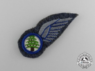 A Lebanese Air Force Pilot Badge