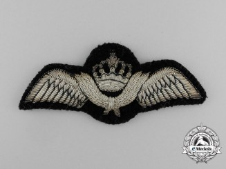 A Royal Jordanian Air Force Pilot Badge