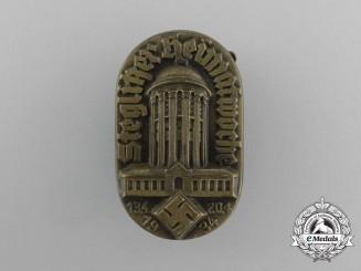 A 1934 Steglik Week of the Homeland Celebration Badge