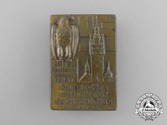 A 1937 Gaustaft Dessau District Council Meeting and Folk Festival Badge