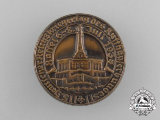 A 1935 5th German Reichs Veteran's Remembrance Day of the Kyffhäuser Association Badge