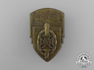 A 1934 NSKOV Karlsruhe War Victim's Remembrance Day Badge