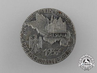 A Fine Quality 1937 Reichs Association Meeting of Railroad Clubs Badge