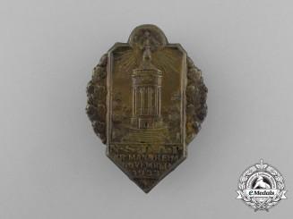 A 1933 NSDAP Mannheim District Council Day Badge
