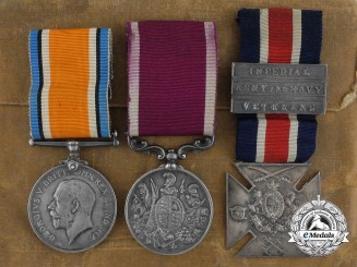 A First War Long Service Trio to the 35th Canadian Infantry Battalion