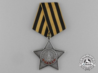 A Soviet Russian Order of Glory; 3rd Class to Fyodor Alekseevich Chernenko