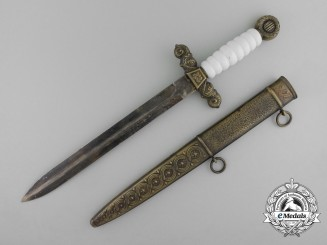 A Second War Croatian Navy Officer's Dagger by Braca Knaus, Zagreb