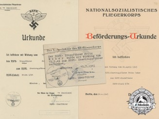 A Pair of NSFK Promotional Documents Promoting Fritz Weber